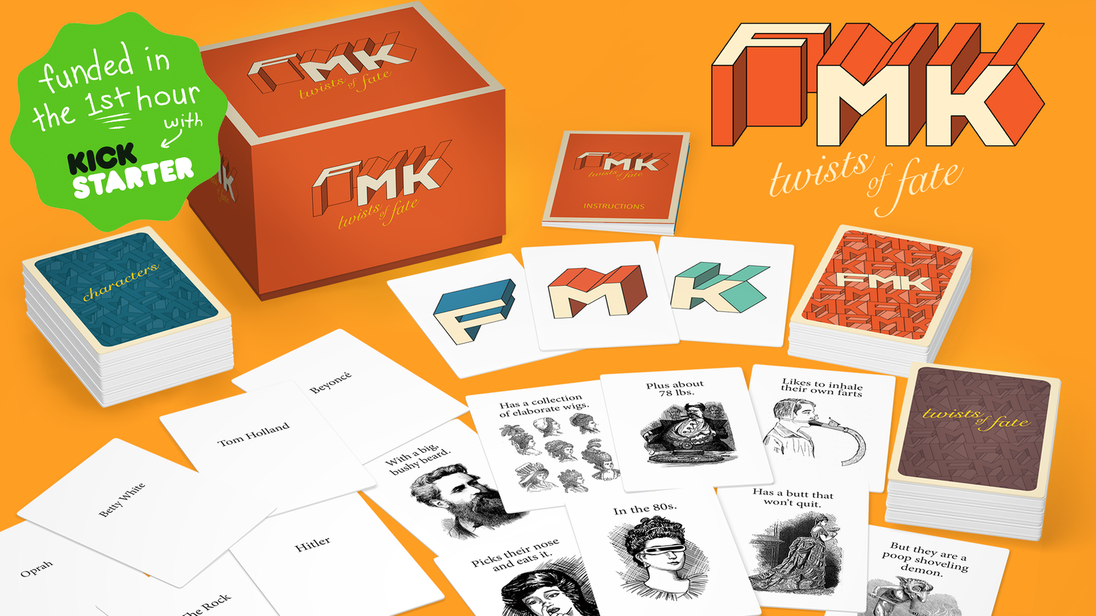 F Thor? Marry Gandhi? Kill Hitler? What if he can grant magic wishes? The choices are tough but silly in this hilarious card game.