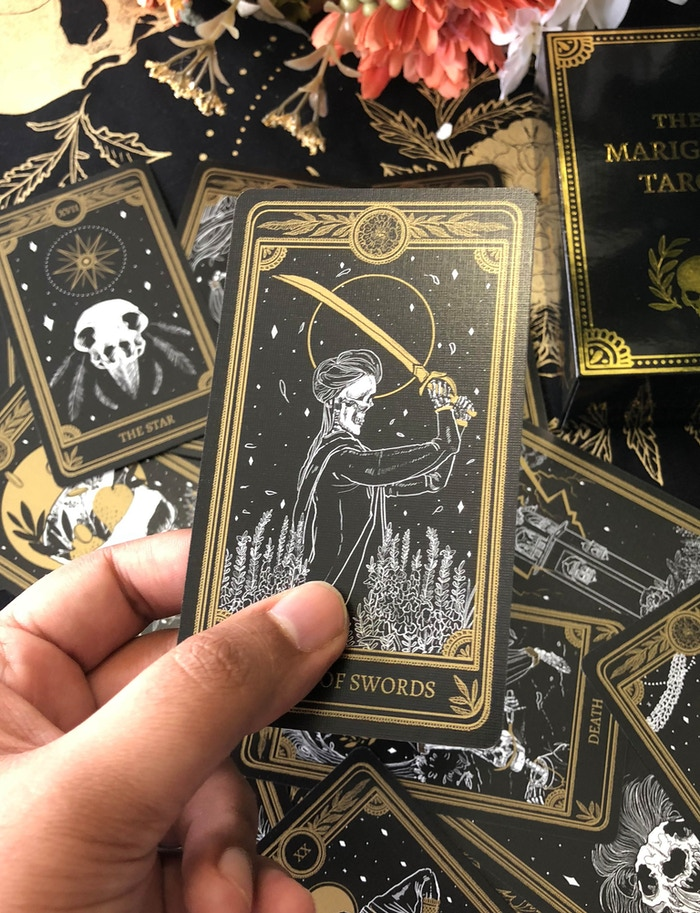 The Marigold Tarot by Amrit Brar — Kickstarter