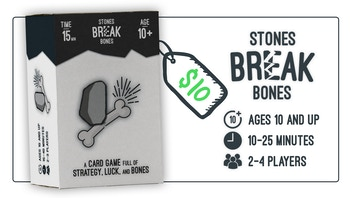 Stones Break Bones - the card game