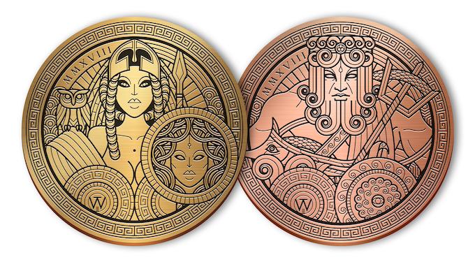 Saggezza and Tempesta Coins