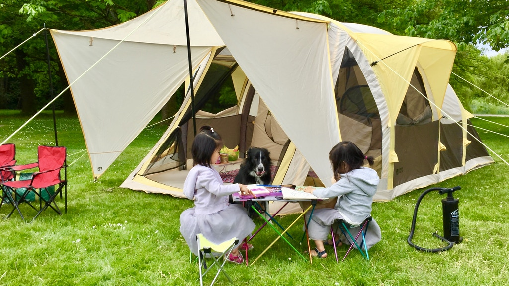 Change your camping game with the Zephyr Air Frame Tent