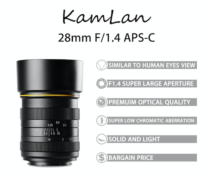 Kamlan 28mm f/1.4 Product Overview