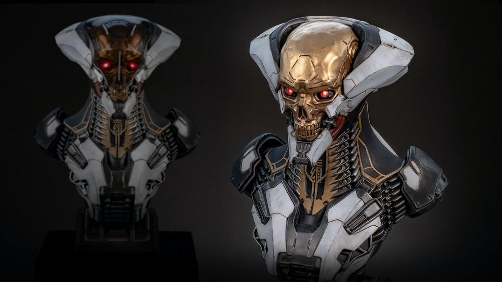 METAL HEADS - Collectible Bust Statue project video thumbnail