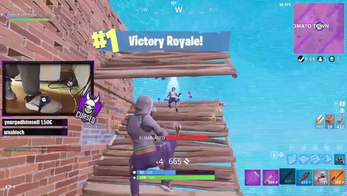Thanks to Cursed eSports for sharing this win with us live on stream!