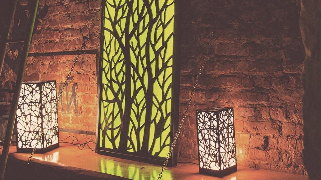 AURA lamps / wooden exclusive