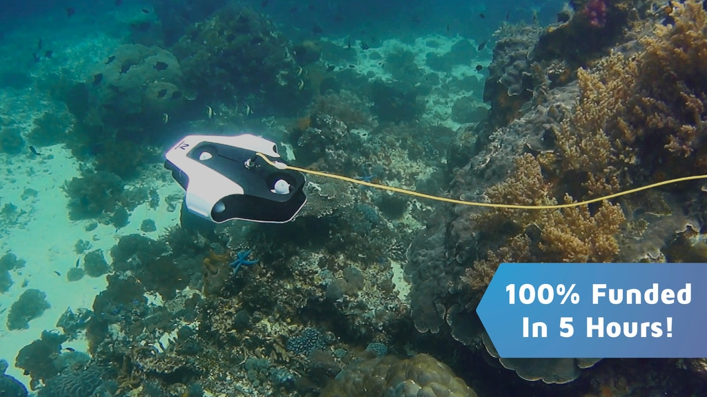 Navatics MITO: The Most Stable Underwater Drone project video thumbnail