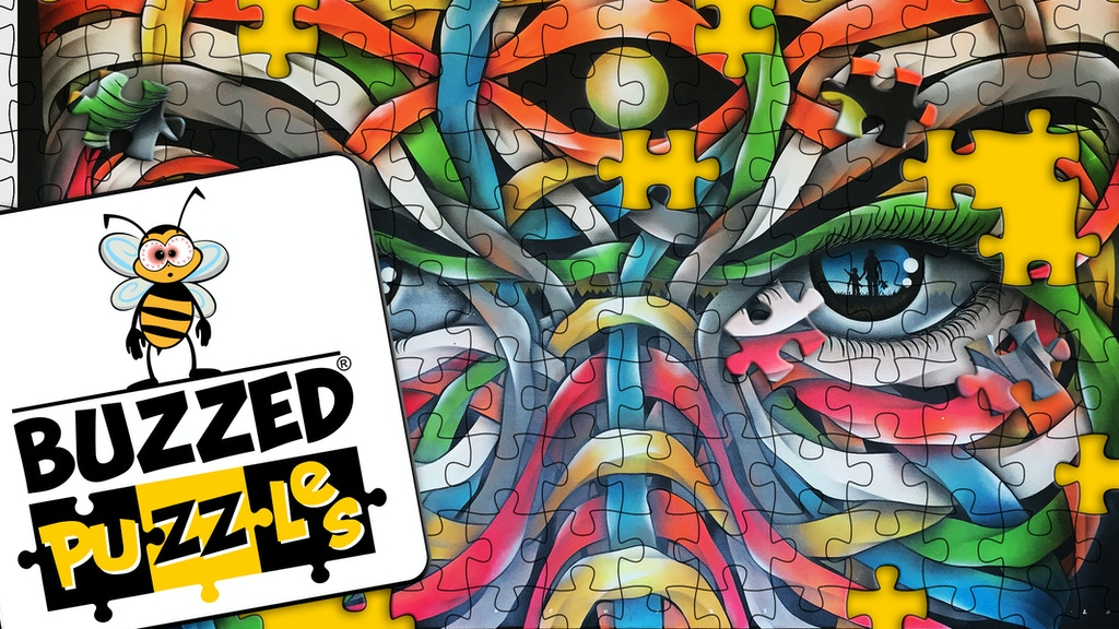 *Buzzed Puzzles* New-School Art On An Old-School Game project video thumbnail