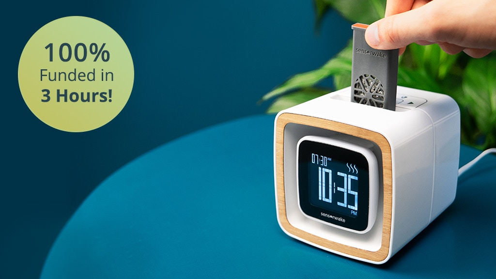 Sensorwake Trio: Smell-Based Alarm Clock to Improve Your Day project video thumbnail