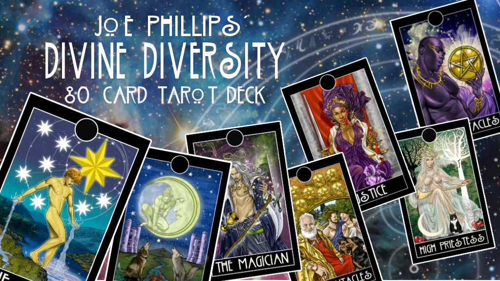 Tarot cards by comic artist Joe Phillips. project video thumbnail