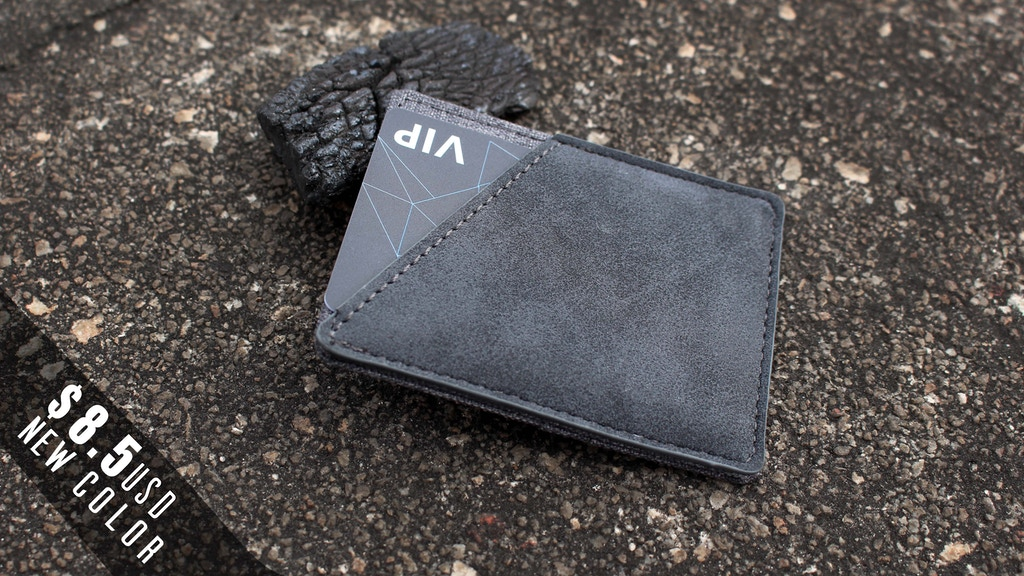 Minix comeback : Best canvas RFID minimal slim wallet project video thumbnail