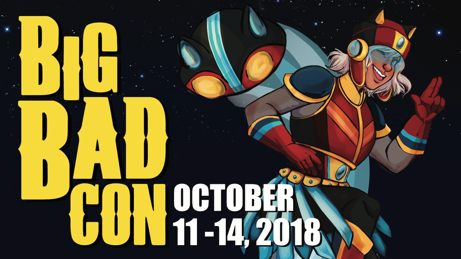Big Bad Con is a tabletop and live action gaming convention built on great games and a welcoming community. Join us October 11-14!