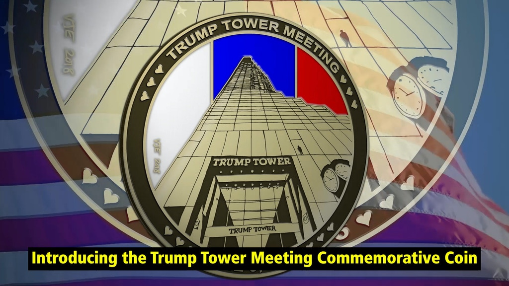 Trump Tower Meeting Commemorative Coin project video thumbnail