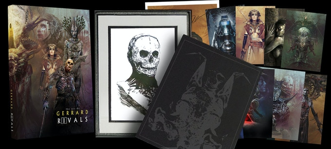 RIVALS Mindwarp ARTIST Edition with Deluxe Box (for ink drawing and prints, limited to Backers)