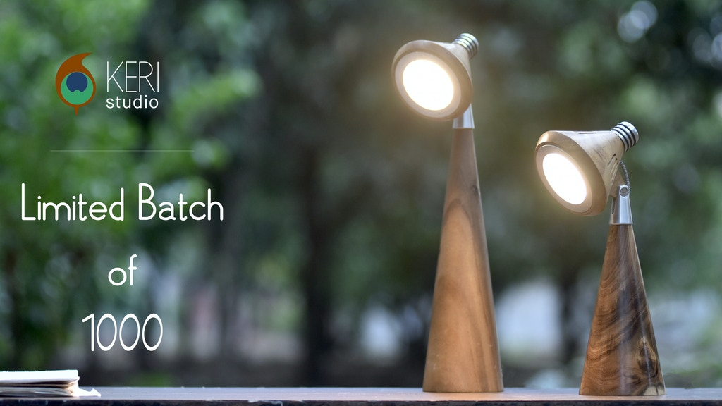 Made from Nature, for Nature – Keri Smart Lamps