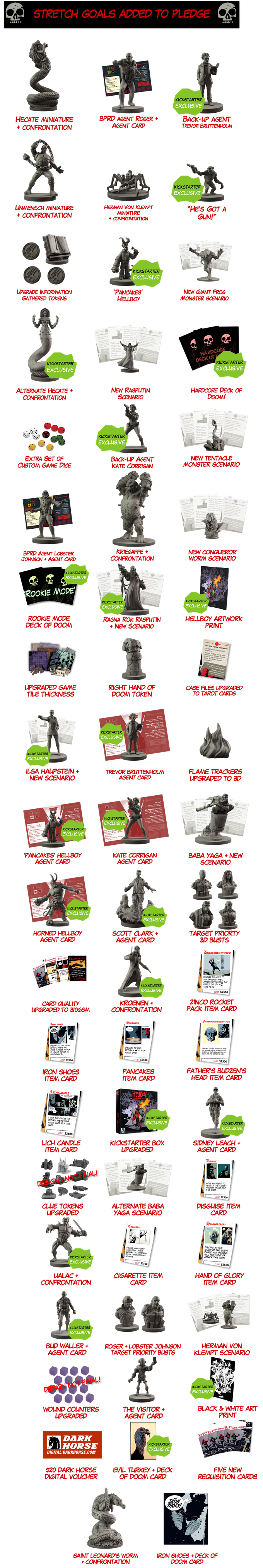 Hellboy: The Board Game by Mantic Games — Kickstarter