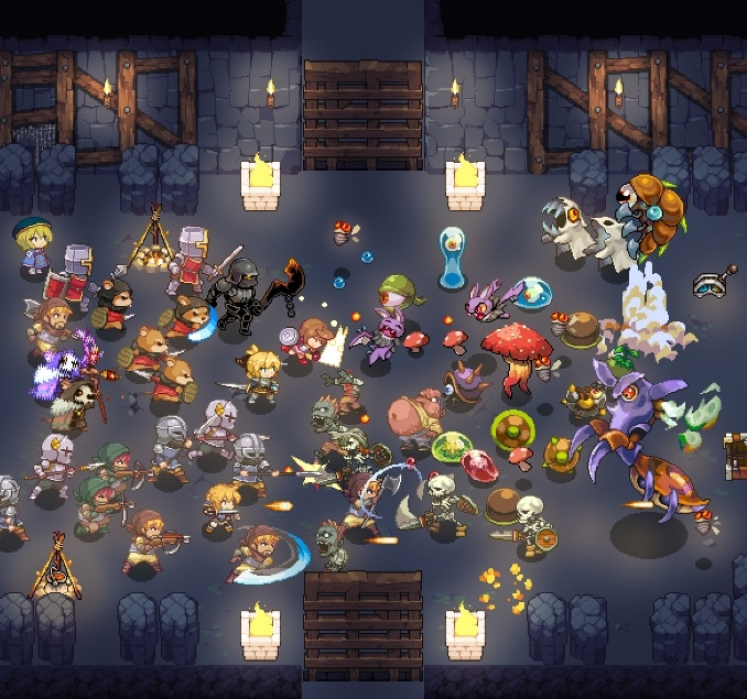 Pixel Princess Blitz - Sandbox Roguelite Action RPG by Lanze