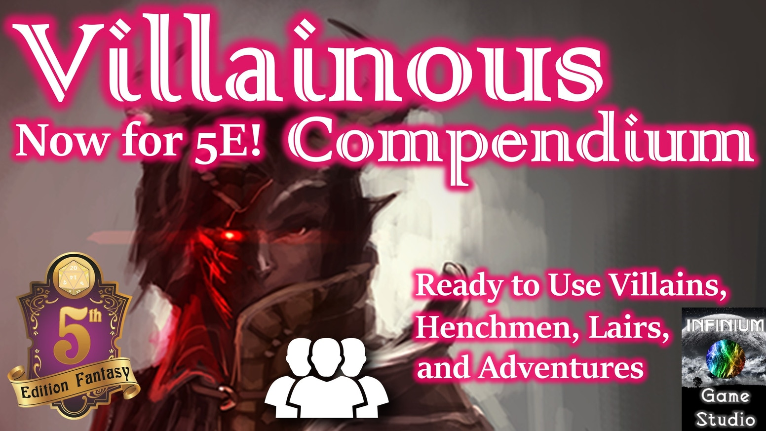 Villains, henchmen, lairs, and entire adventures ready to use in any Pathfinder or 5E campaign setting, supporting any challenge level.