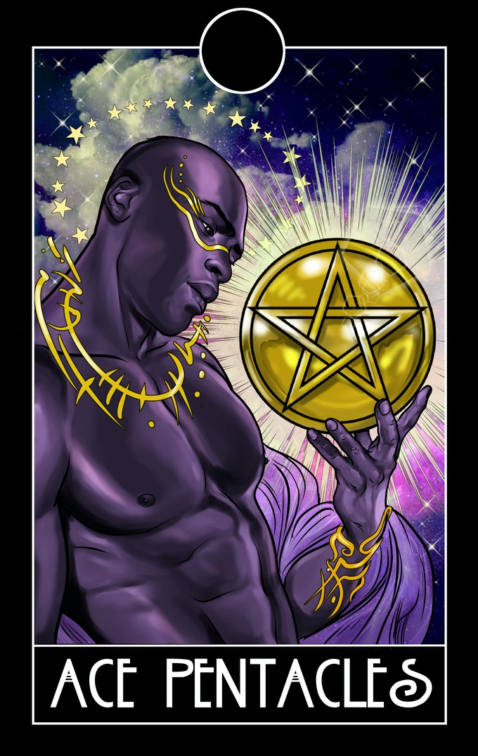 The devil and king of pentacles  The King of Pentacles  2019