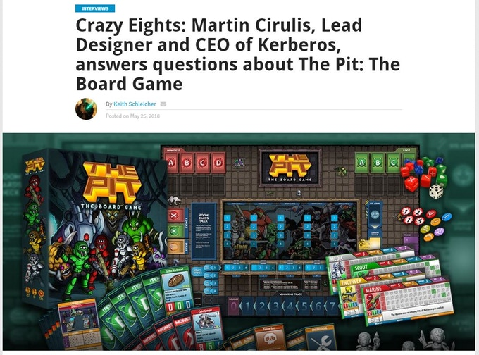 Interview with Martin Cirulis at Gaming Trend!