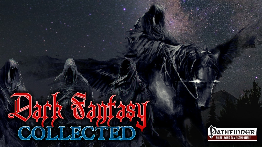 PATHFINDER RPG DARK FANTASY ADVENTURES COLLECTED - LVLS 1-14 project video thumbnail