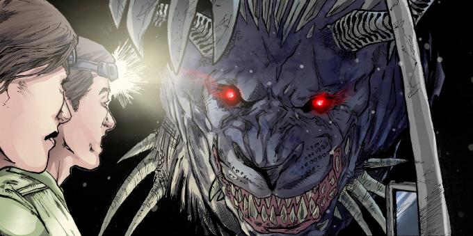 The Behemoth poking in to say hi.