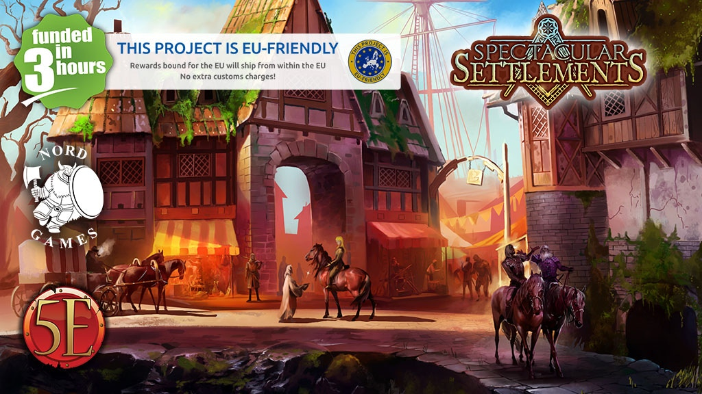Spectacular Settlements for 5th Edition! project video thumbnail