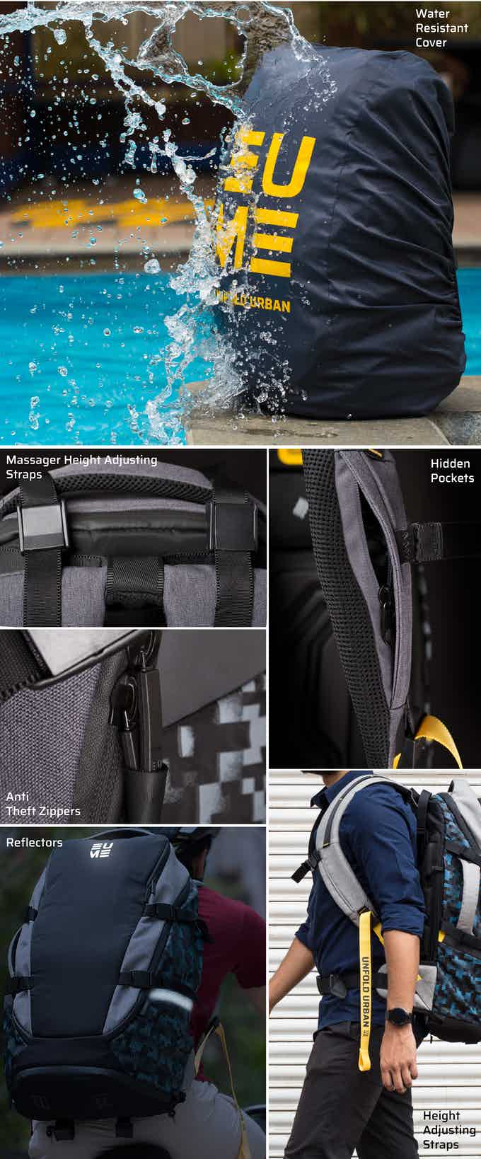 Daily Backpack and Travel pack share some incredible features
