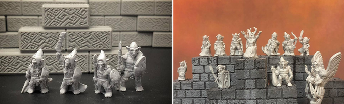 Kyn Finvara: 3d Printable Goblin Village by Ill Gotten Games