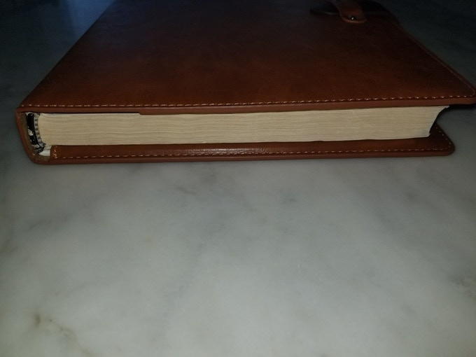 Leather Cover with 2nd Edition Monster Manual (Very Thick)