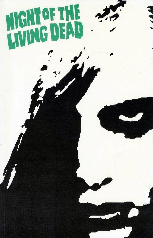 The original cover for FantaCo's 1991 NOTLD Complete Graphic Novel
