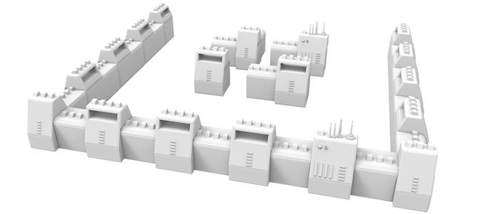 Bunker Walls (SatCom, Corner, Block and Strait Walls)