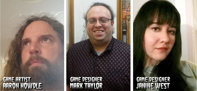 Aaron Howdle, Mark Taylor and Janine West