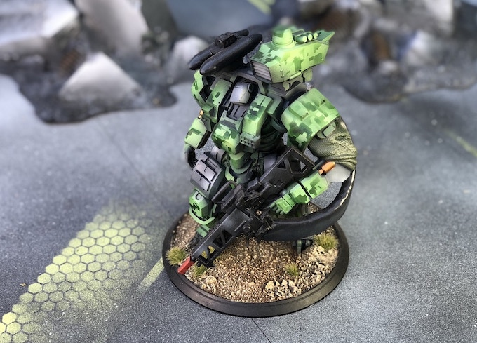 Heavy Weapons Mech  Boxed Set