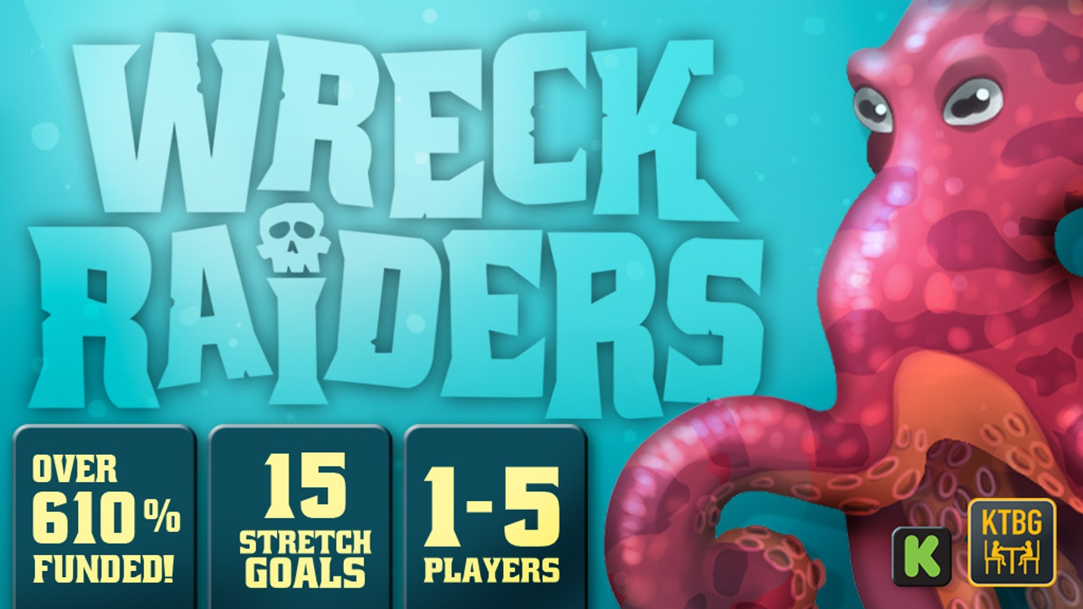 Draft your dice, place your workers into the glittering sea, and collect treasures from a seafloor overflowing with pirate shipwrecks.