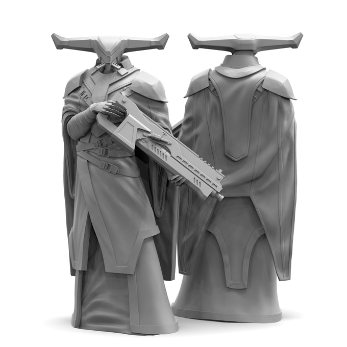 Omrath Overseer Sculpt