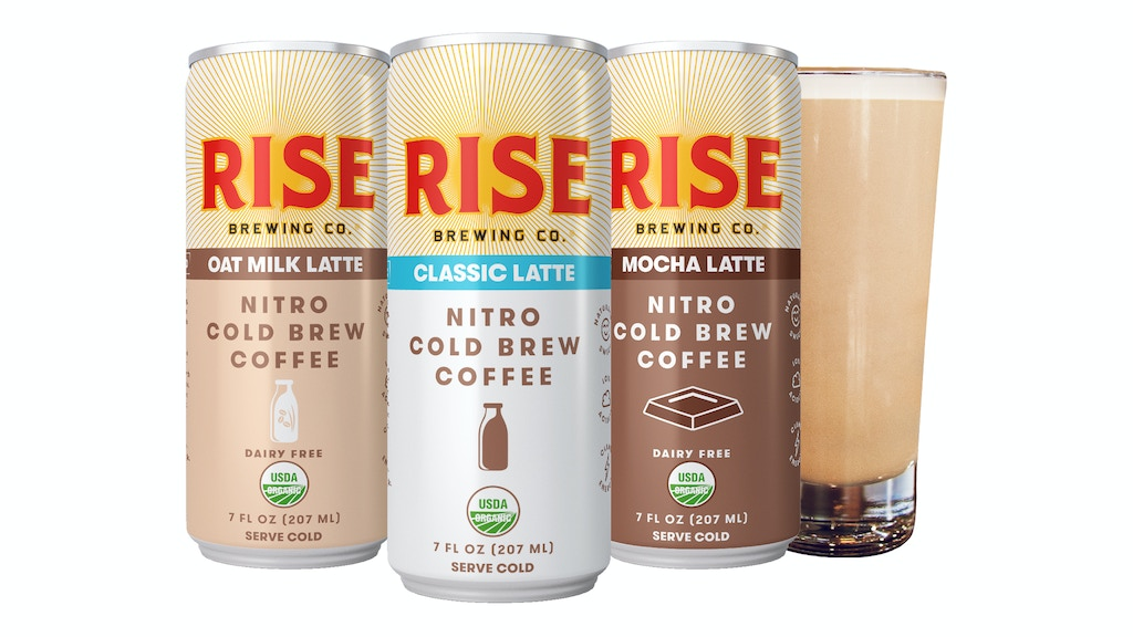 Nitro Cold Brew Coffee Lattes by RISE Brewing Co. project video thumbnail