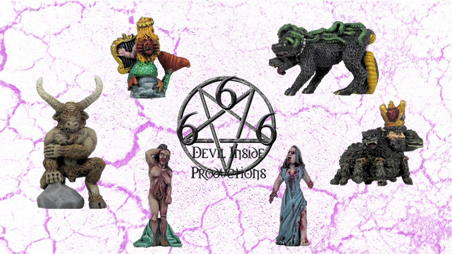 Third Wave of more weird and wonderful Demonic little beasties in miniature form.