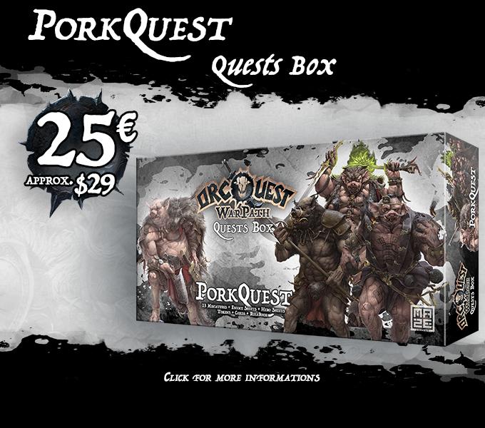 OrcQuest WarPath - The Boardgame by MAZE GAMES — Kickstarter
