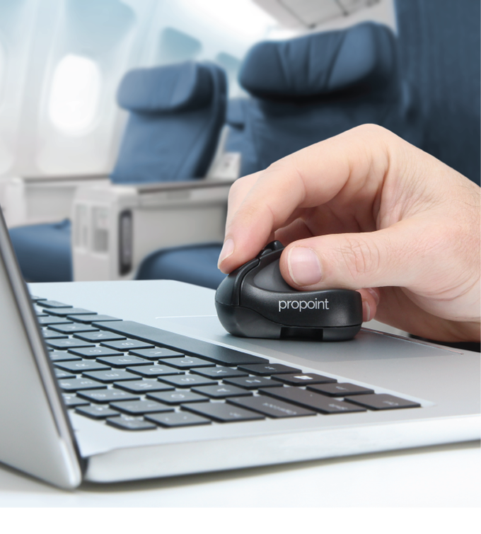 ProPoint™ Mouse & Presenter  PC/Mac/iPad, office or travel  by Grant