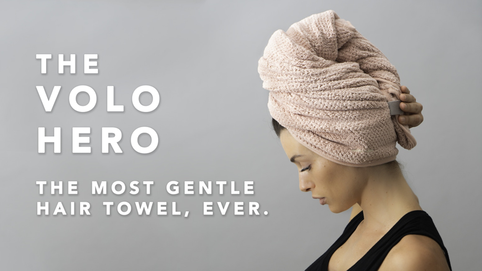 The most innovative hair towel on the market, designed for healthier hair, easier use, and faster dry time. Peace out, frizz.