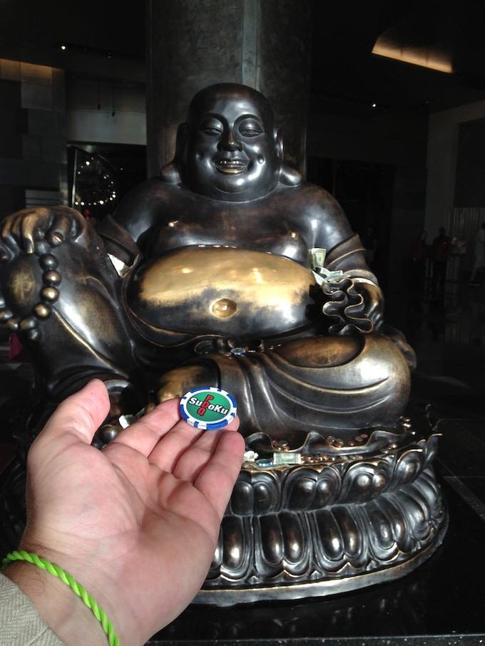 Bill with Buddha Chip