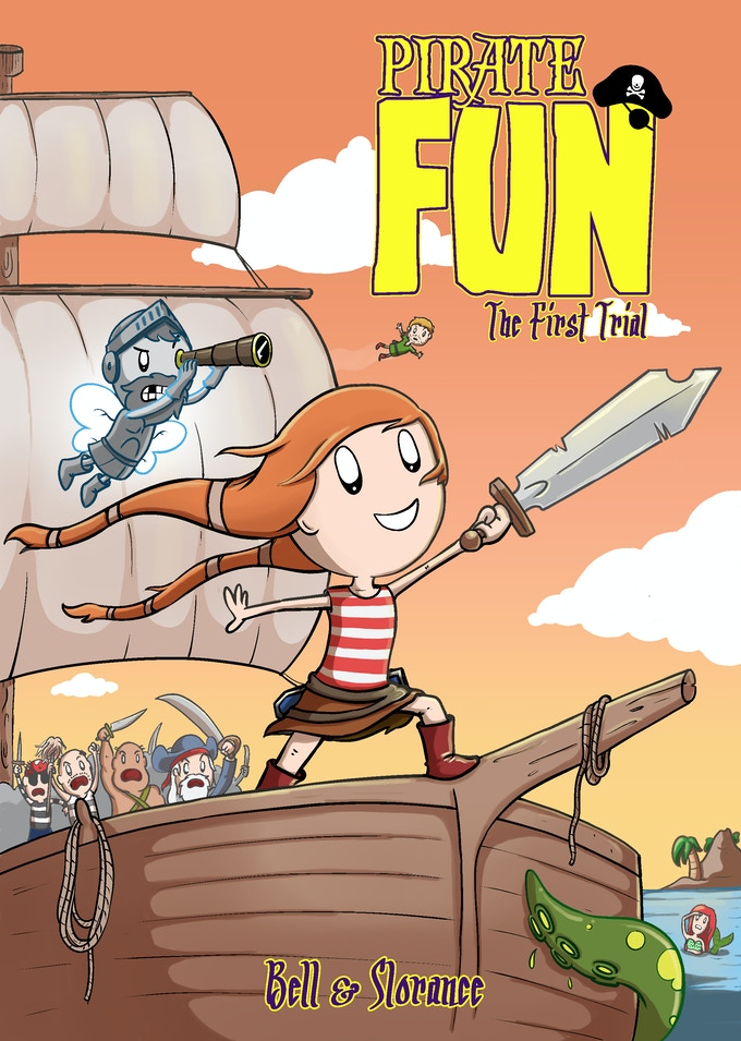 Pirate Fun: The First Trial cover