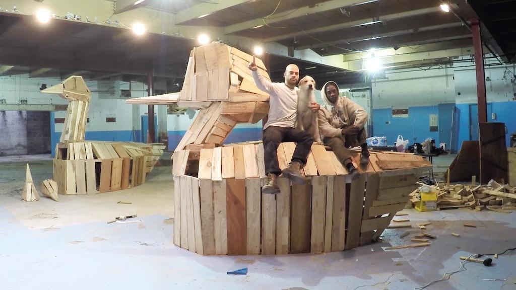 Nicolas Holiber: Birds on Broadway Audubon Sculpture Project project video thumbnail