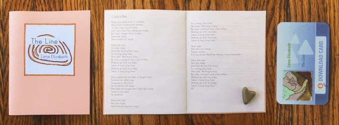 Lyric book w/ Download Card