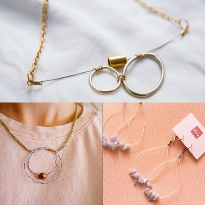 Custom Ukulele string Jewelry By Tsii