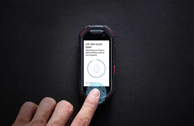 Fingerprint Scanner - secure & convinient