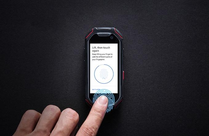 指紋スキャナ - 安全で便利な