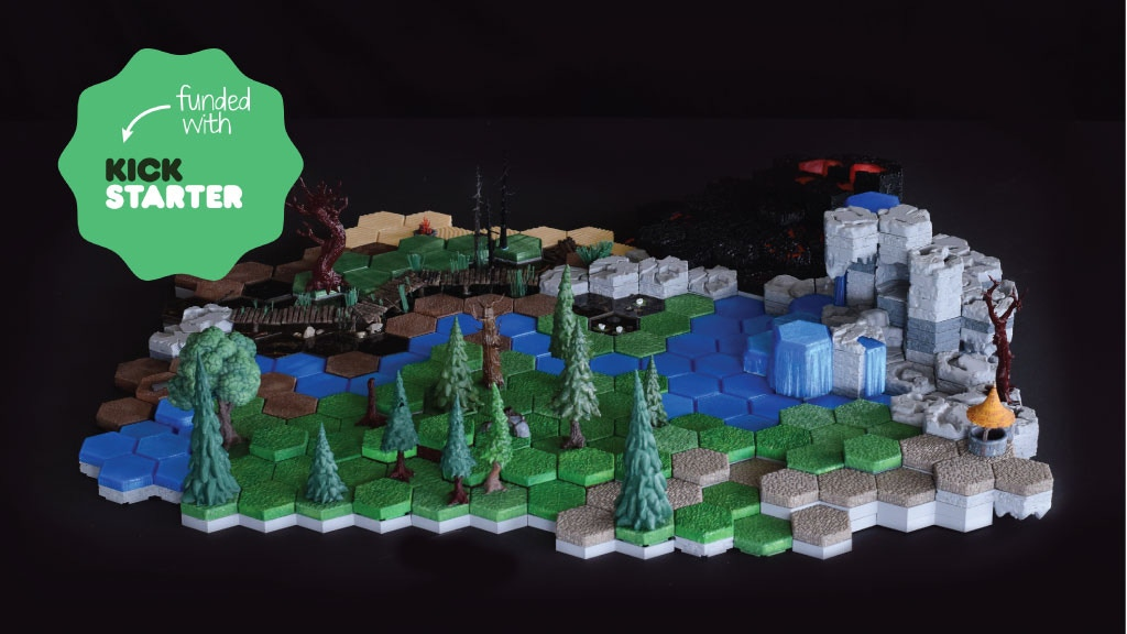 HyGround 3D Printable Tabletop Gaming Terrain project video thumbnail