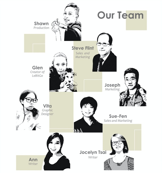 LeBitGo team members ...