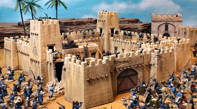 The Fort. Printed and painted Frank Becker